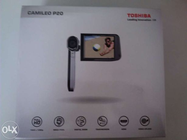 Câmara de video Toshiba Camielo P20