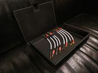 Kudos Ks-1 silver Zworki do kolumn kable głośnikowe Trans Audio Hi-Fi