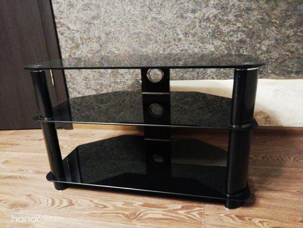 Стеклянный столик/тв тумба