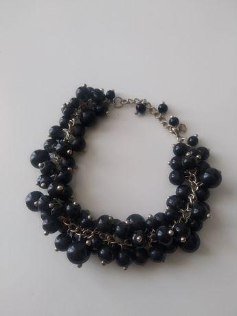 Bransoletka czarne perełki
