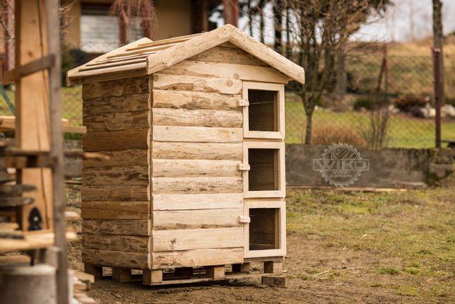 domek dla królików 12-18XXL,króliczak, klatka dla królika deska sosna!