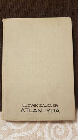 """Sprzedam książkę """"Atlantyda"""" Ludwika Zajdlera."""