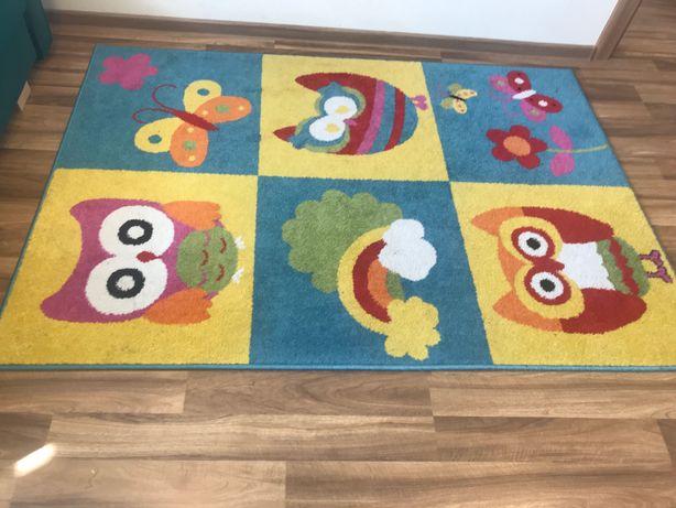 Dywan kolorowy dziecięcy 120x170