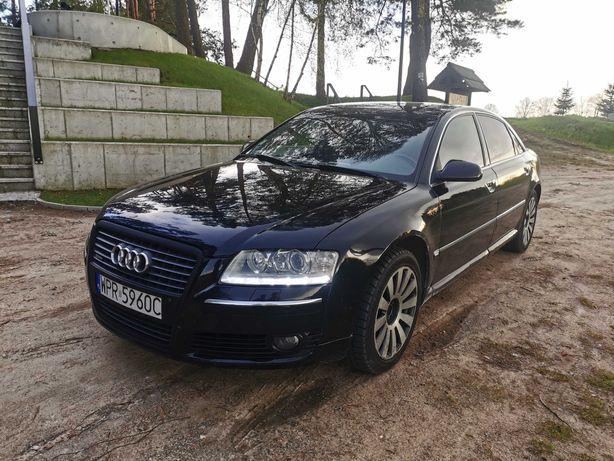 Audi A8 Long 4,2 TDI * ZAMIANA * Led, Solardach, QUATTRO, TV, Masaże