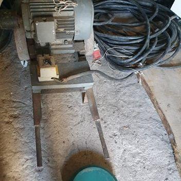 Silnik 7,5 kw +45m kabla 5 żyłowy