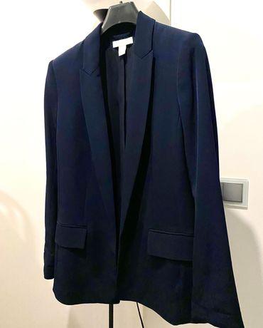 Blazer Azul Escuro H&M
