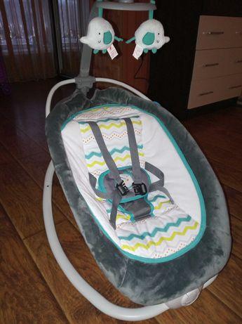 Детский Шезлонг-качелька 0-6 месяцев