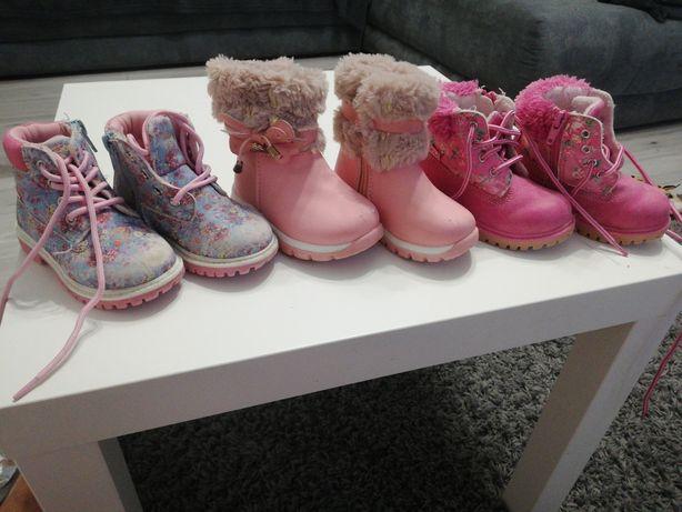 Buciki dla dziewczynki.