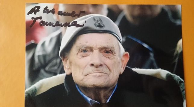 Cichociemny Tarnawski ostatni żyjący podpis