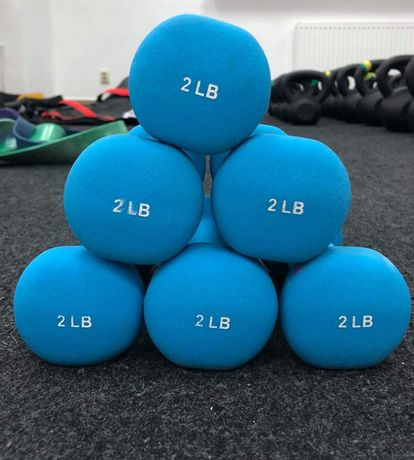 Używane hantelki 2 lbs (0.9kg)