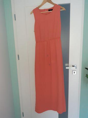 Sukienka Reserved 38 dluga koral