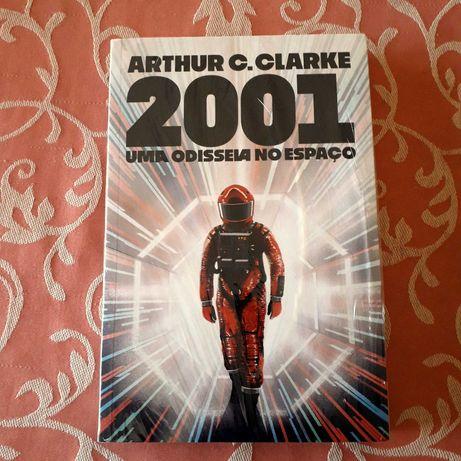 Arthur C. Clarke - 2001 Uma Odisseia no Espaço - Ed Aleph BRASIL  NOVO