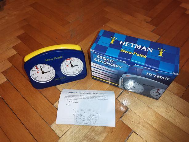 Zegar szachowy Hetman stan idealny