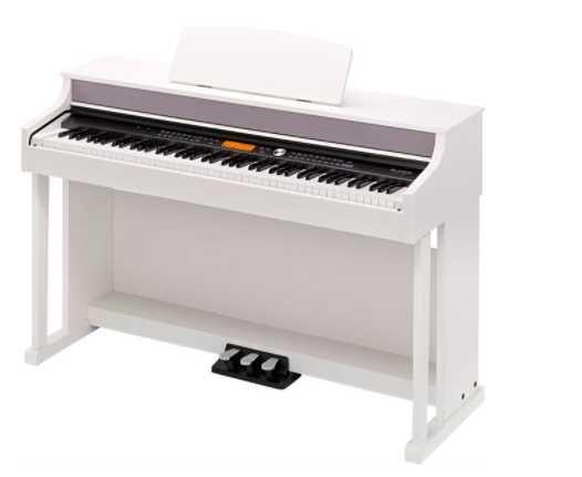 Piano branco Digital Novo, com  garantia.