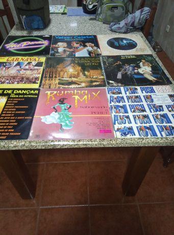 Vários discos de Vinil