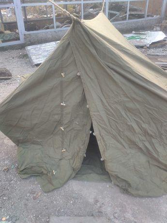 Палатка брезентовая 4х местная