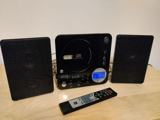 Mikrowieża Dual CD-R, mp3, karta SD/MMC