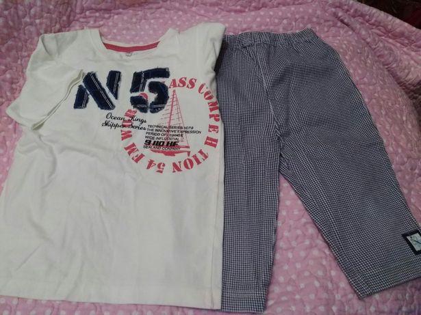 Летний комплект (футболка+шорты)