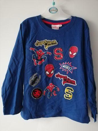 Nowa Koszulka Spiderman r. 116 cm Marvel długi rękaw