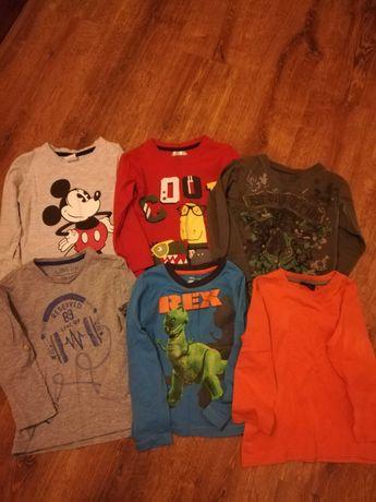 Zestaw koszulek i spodni chłopiec 98