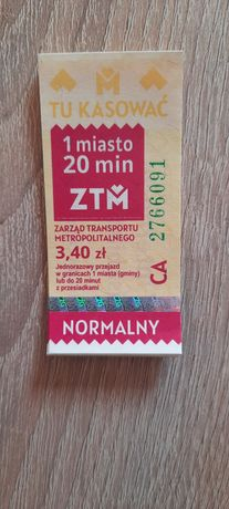 Bilety Kzk GOP 3 zł sztuka !!!
