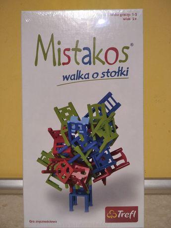 """Gra  ,, Mistakos (gra o stołki) """"."""