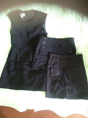 Пакет школьных вещей для девочки, сарафаны, шорты,блузы 1-4 класс