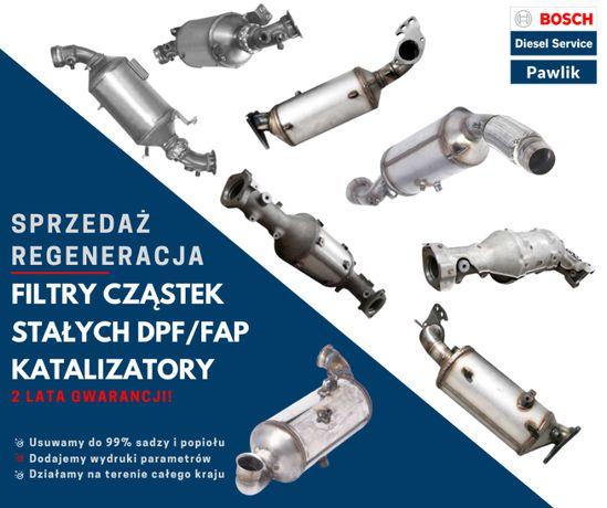Regeneracja DPF FAP Mercedes Sprinter 2,2 509 CDI