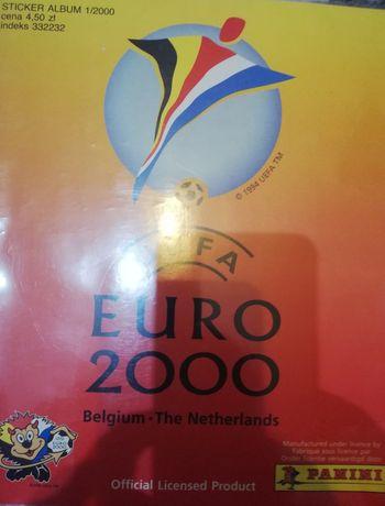 Naklejki Panini UEFA Euro 2000 Belgium-Netherlands