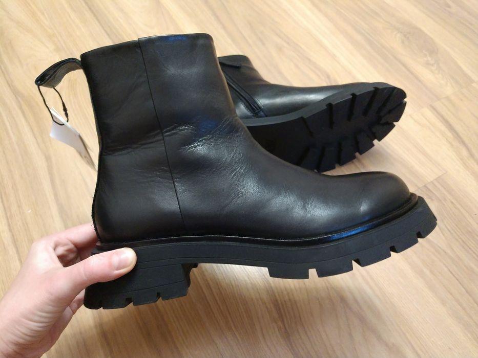 Кожаные ботинки Zara Винница - изображение 1