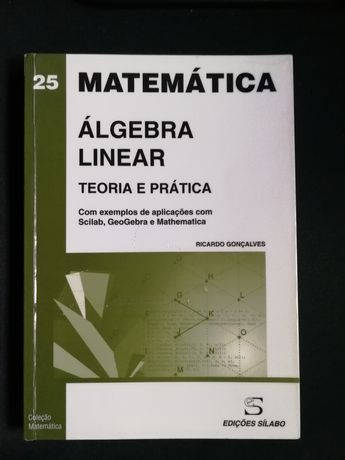 Livro de Álgebra Linear de Ricardo Gonçalves