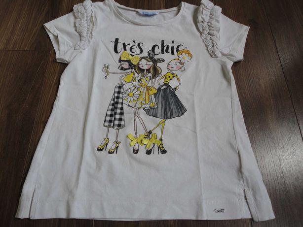 "Tam.10A (140cm) - MAYORAL t-shirt ""Très Chic"""