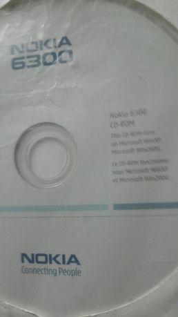Sterowniki na PC telefon NOKIA 6300 CD ROM