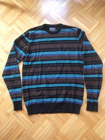 Markowy sweter męski Pull&Bear rozmiar L