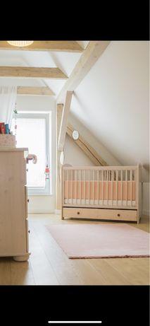 Zestaw mebli niemowlęcych/dziecięcych drewno