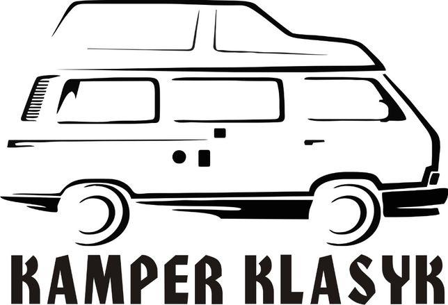 n551-Naklejka VW T3 Kamper klasyk