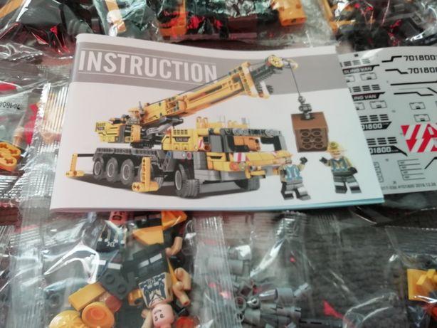 Dźwig kompatybilny z Lego Technic
