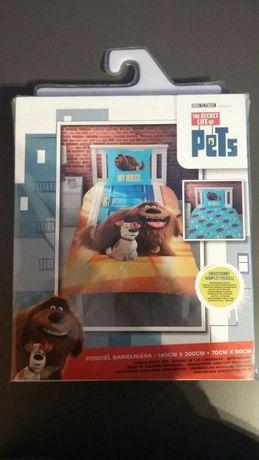 Pościel Bawełniana z licencją Sekretne życie zwierzaków domowych