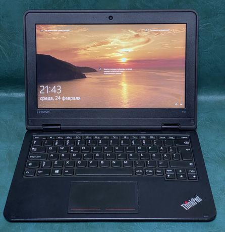 "ноутбук Lenovo ThinkPad 11e 11""/ 8Gb RAM / 120Gb SSD ! Магазин !"