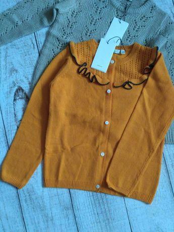 Красивый кардиган, кофта на пуговицах, свитер на 9-10 лет (140 см)