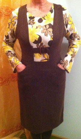 Новое платье - сарафан 48