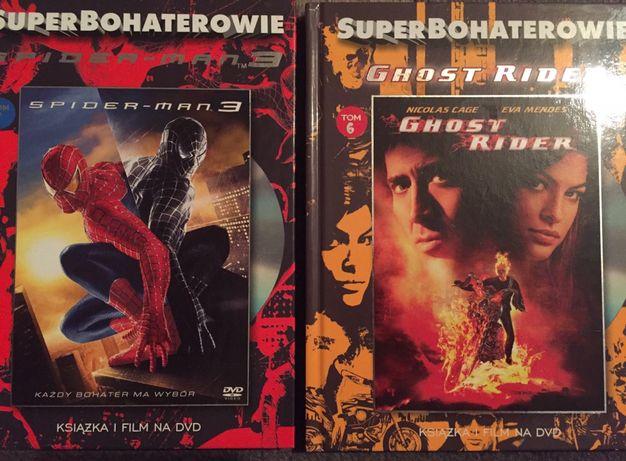 DVD film Spider-Man 3 Ghost Rider superbohaterowie