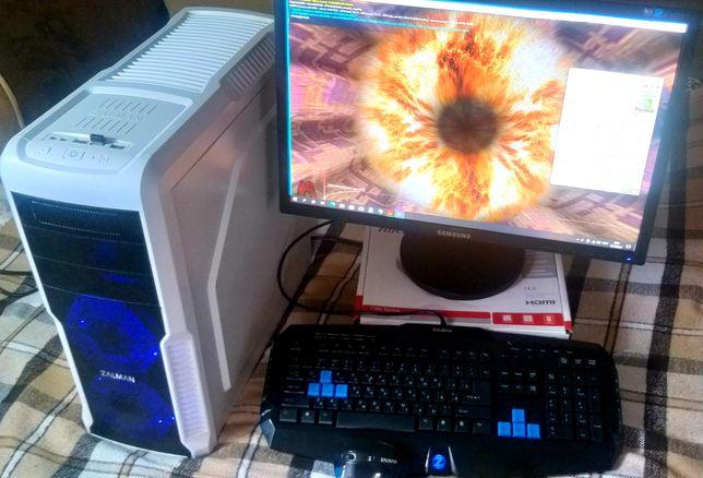 Компьютер для игр и работы/i7 4790/GTX 970/SSD 128/SSD 480+Подарок