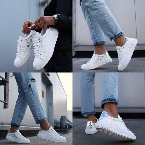 Женские кроссовки Louis Vuitton Sneakers White 36-40 Кеды! Хит Сезона!