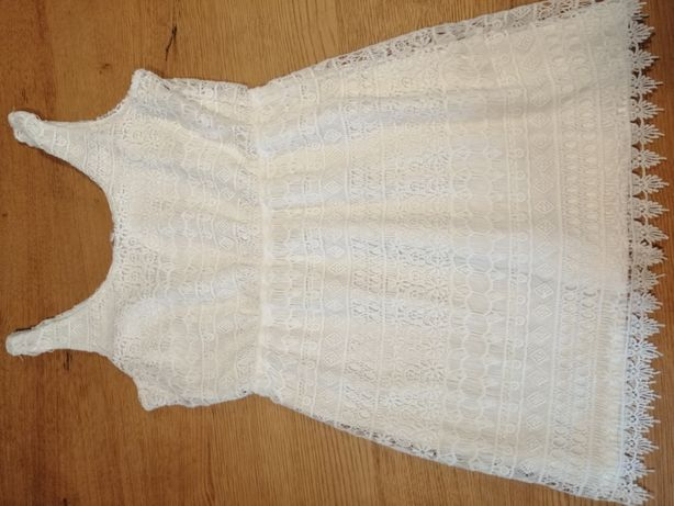 Koronkowa sukienka C&A, r. L !!!