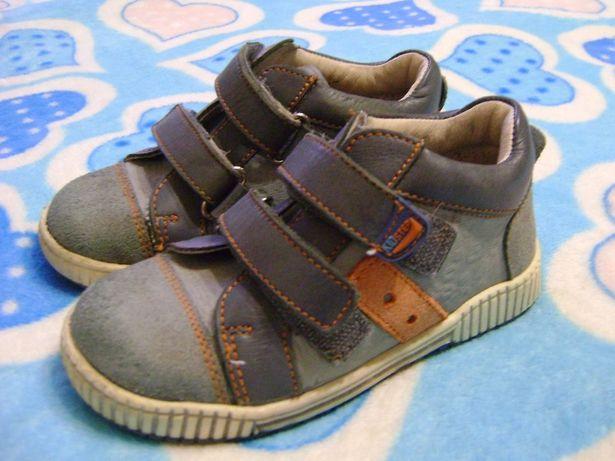 Кожаные ботинки сникерсы Котофей 25-26 р кроссовки кросівки черевики