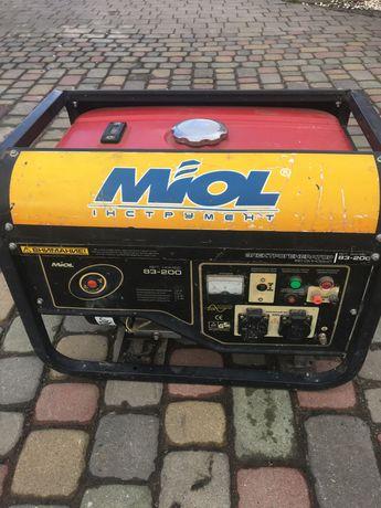 Генератор MIOL бензиновий
