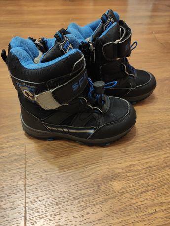 Сапоги ботинки сапожки термосапожки на мальчика