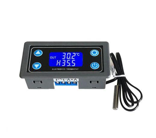 Termostato 6V-30V digital ajuste e controlo 0.1ºC (decimal)