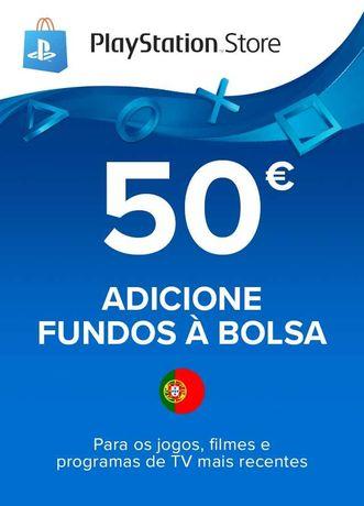 Cartão PSN- 50 euros